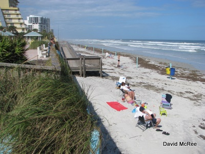 Frank Rendon Park beach, Daytona Beach, Florida