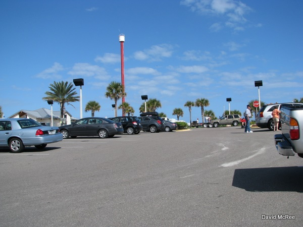 Parking at Breakers Oceanfront Park