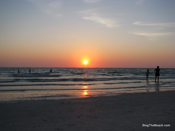 gulf beach sunset