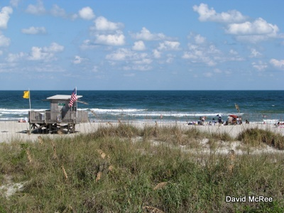 Scene from Cocoa Beach, Florida