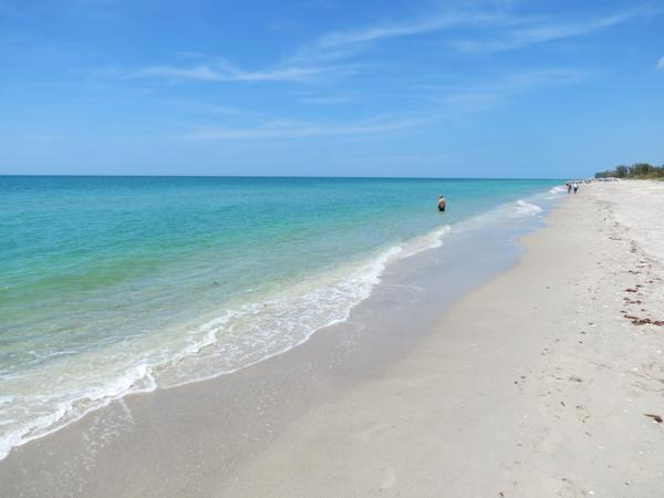 Manasota Key Beach and Gulf of Mexico