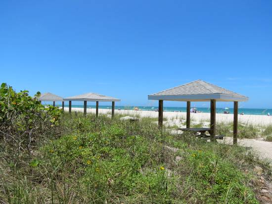 Sandspur Beach on Gasparilla Island, Florida