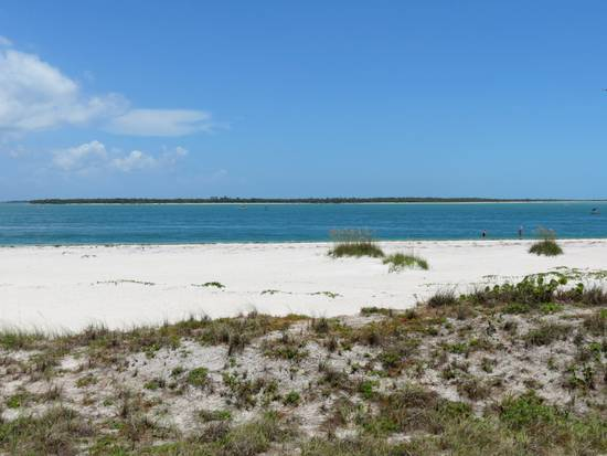 View of Boca Grande Pass from the lighthouse on Gasparilla Island.