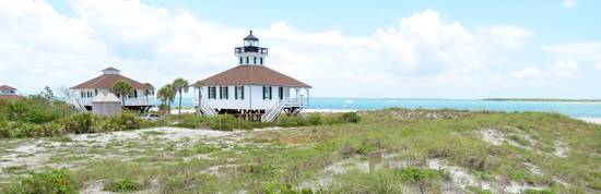 Boca Grande Lighthouse and dunes