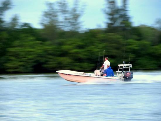 Fishing the flats and passes around Gasparilla Island by boat.