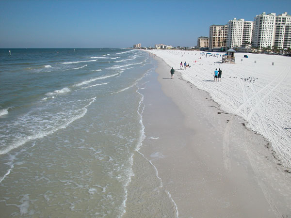 Clearwater Beach and Gulf of Mexico