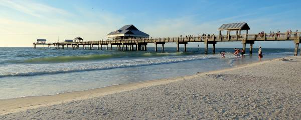 Pier 60 on Clearwater Beach, Florida