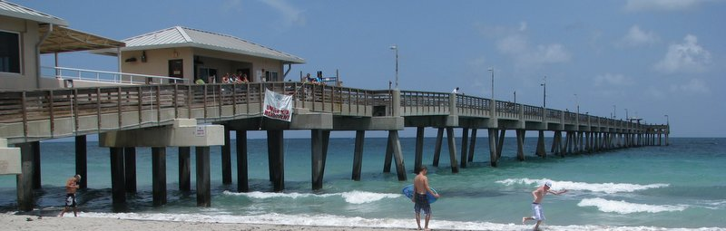 Dania Pier, near Hollywood Beach, Florida