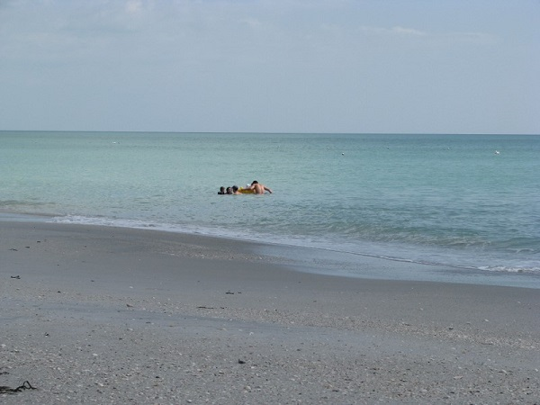 A quiet beach on Don Pedro Island, Florida