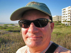 Florida Travel Blogger David McRee in Cocoa Beach