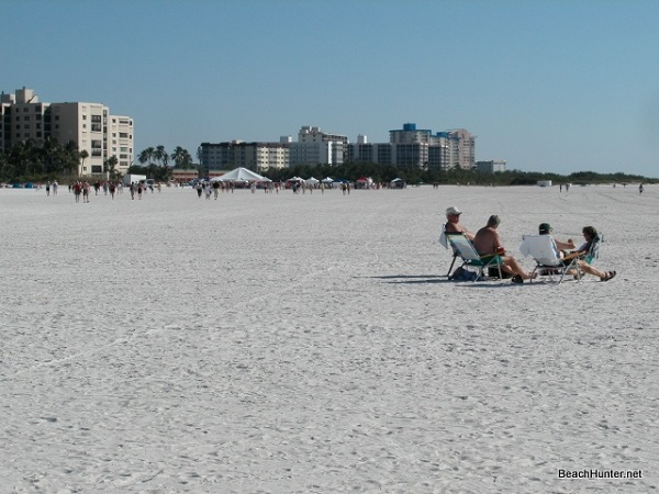Fort Myers Beach white sand