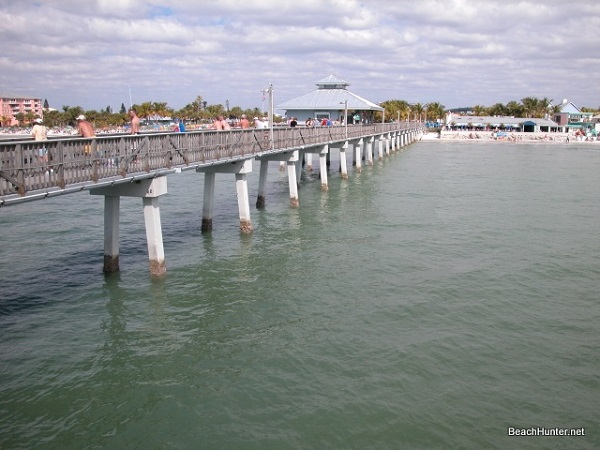 Out on the Pelican Pier, Fort Myers Beach, Florida