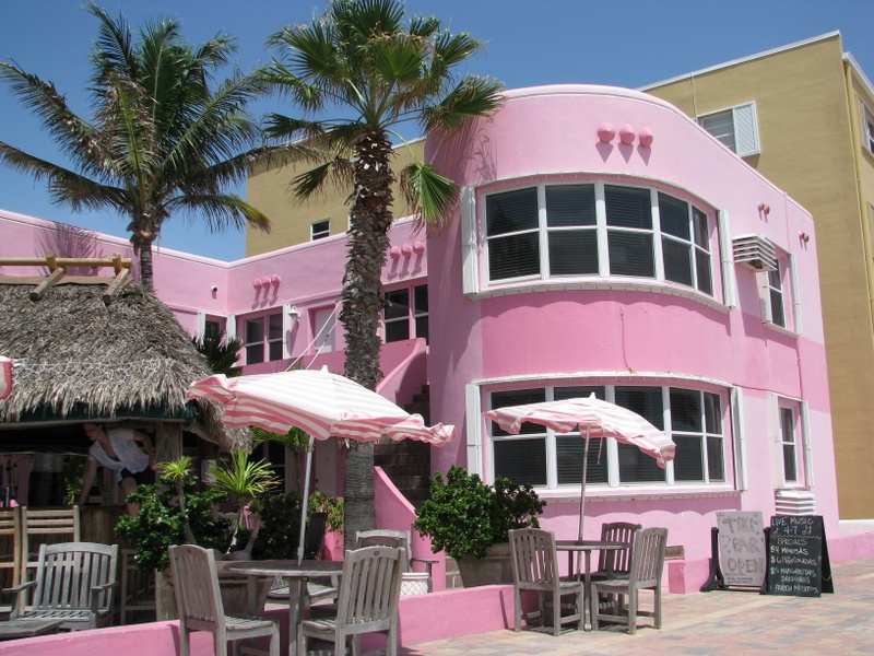 Art Deco Hotel on Hollywood Beach.