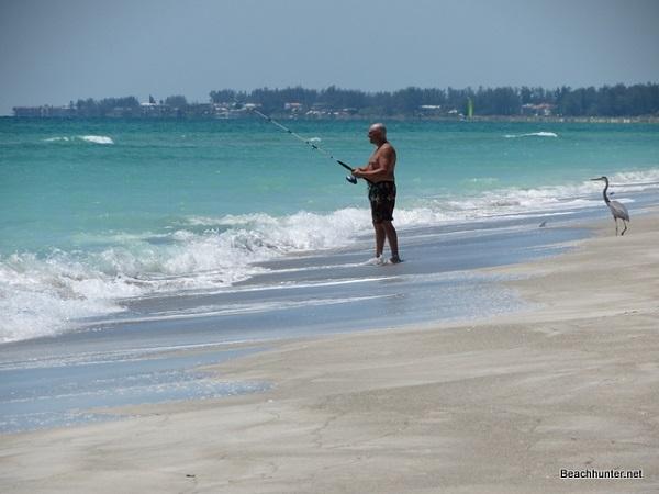 Longboat key florida beaches photos reviews for Surf fishing florida