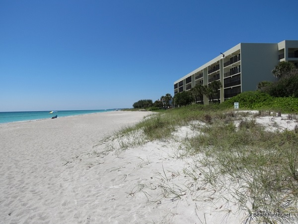 Typical Longboat Key beachfront condominium.