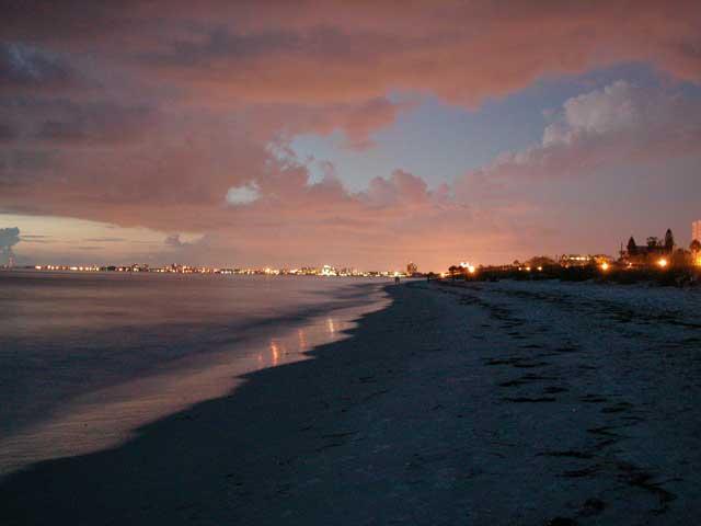 Nighttime Photography Florida Beaches