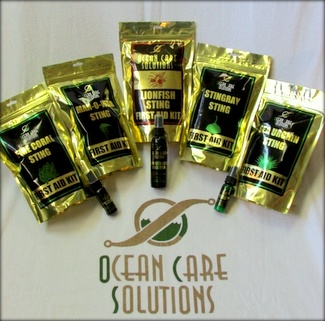 marine sting first aid kits from Ocean Care Solutions