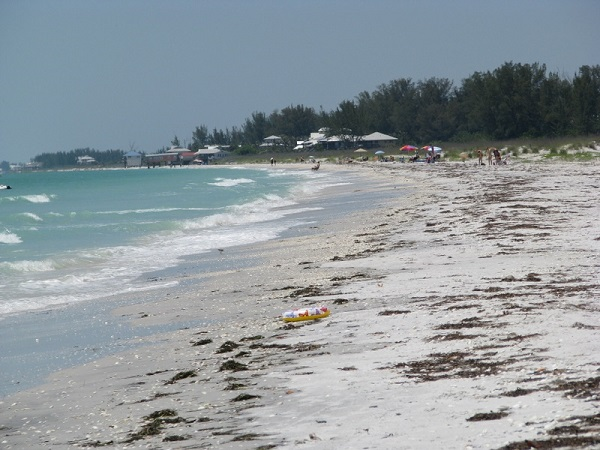 Little Gasparilla Island beach, Placida, Florida.