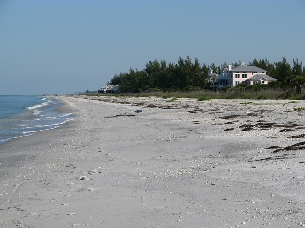 Don Pedro Island beach, Florida.