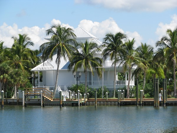 Useppa Island waterfront house.