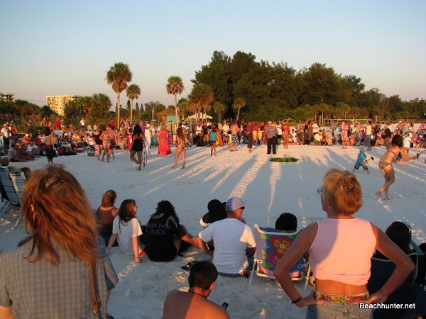Siesta Key Drum Circle, Sarasota, Florida
