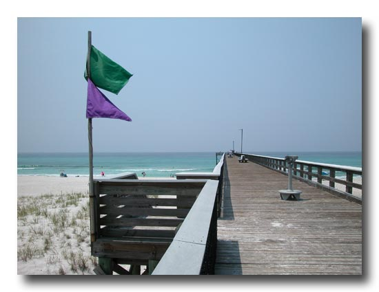 Panama City Beach | Tiller Memorial Pier | St Andrews State Park Pier