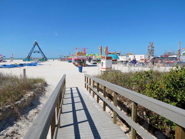 Treasure Island Florida Boardwalk