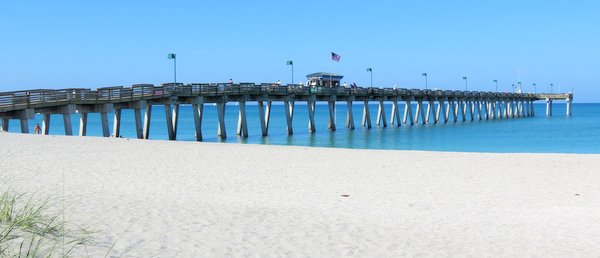 Venice Fishing Pier, Florida.