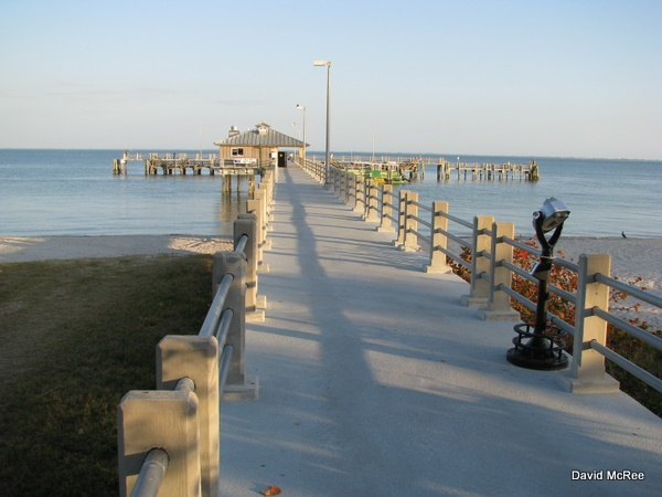 Best beaches near orlando fort desoto county park for Fort desoto fishing pier