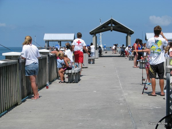 Best beaches near orlando clearwater beach pier 60 for Clearwater beach fishing