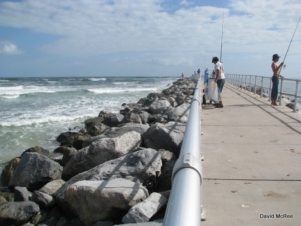 Best beaches near orlando lighthouse point park ponce for Ponce inlet fishing