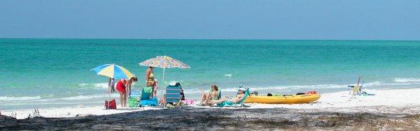 Anna Maria Island Beach Near Magnolia Avenue