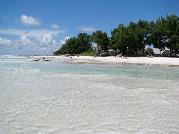 Anna Maria Island Summer Beach Scene