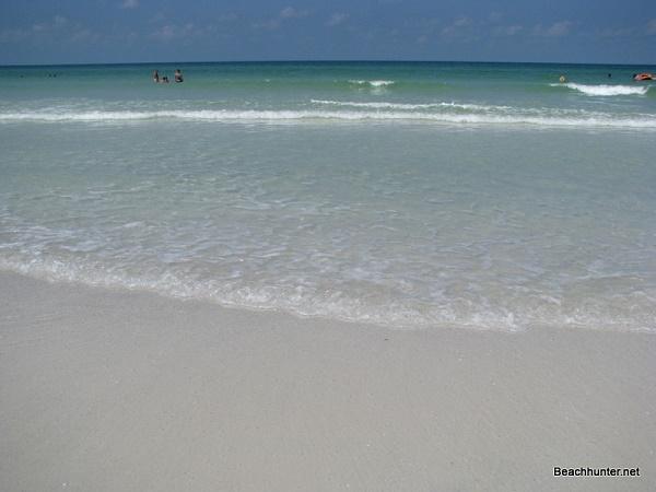 Clear Water On Crescent Beach Siesta Key Florida