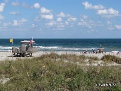 Scene From Cocoa Beach Florida