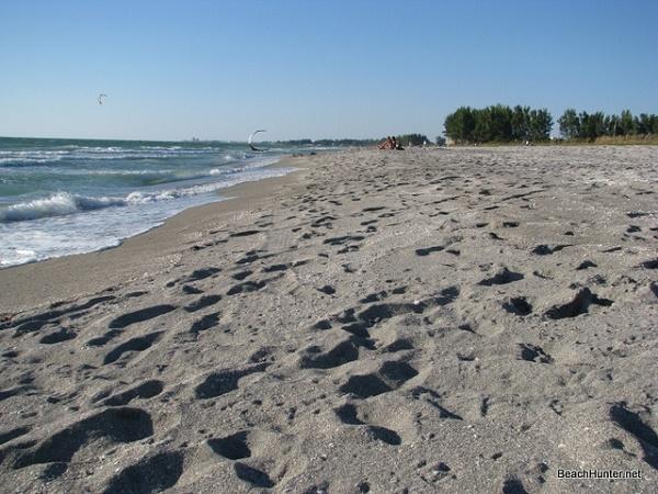 Footprints In The Sand Turtle Beach Siesta Key Florida